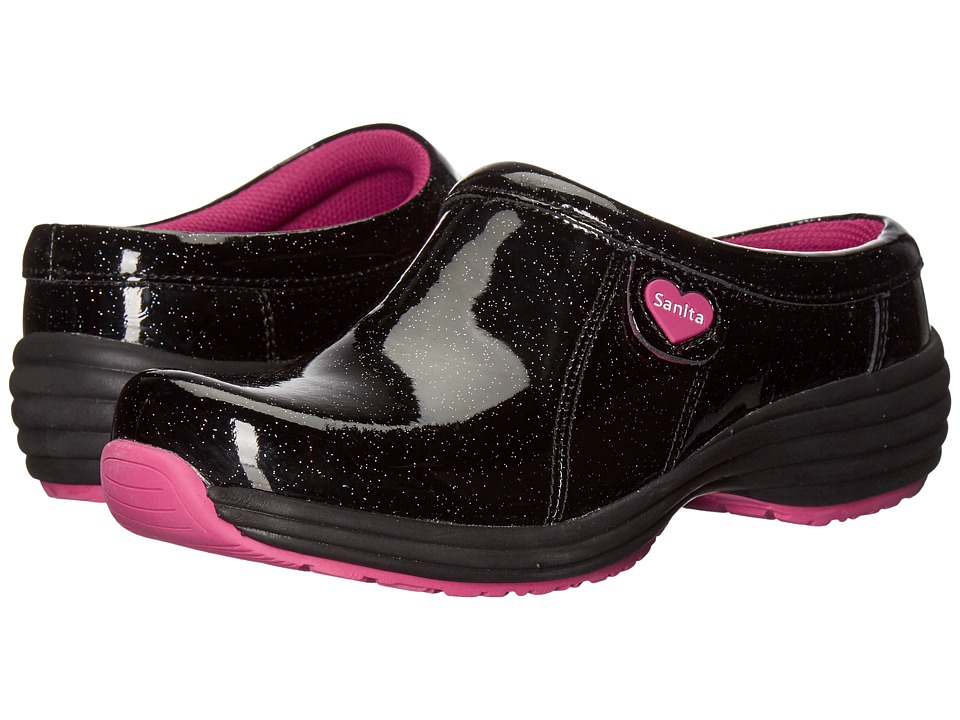 Sanita - O2 Zephyr Life (Black) Women's Clog Shoes