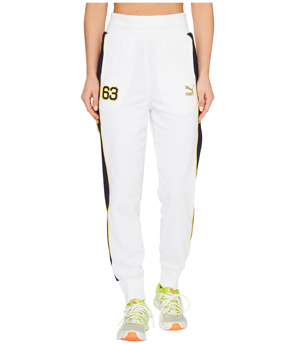 PUMA - BHM T7 Pants (PUMA White/Peacoat) Women's Casual Pants