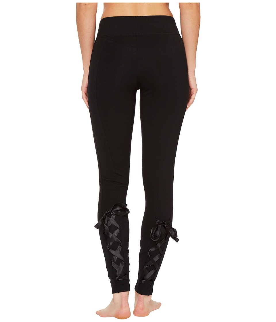 PUMA - Satin T7 Leggings (PUMA Black) Women's Casual Pants