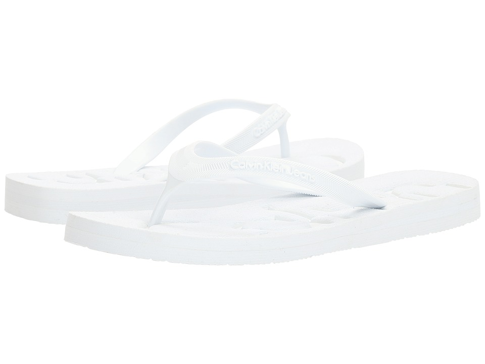 Calvin Klein Jeans - Piccola (White/White Jelly) Women's Shoes