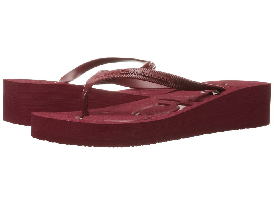 Calvin Klein Jeans - Tamber (Currant/Currant Jelly) Women's Shoes