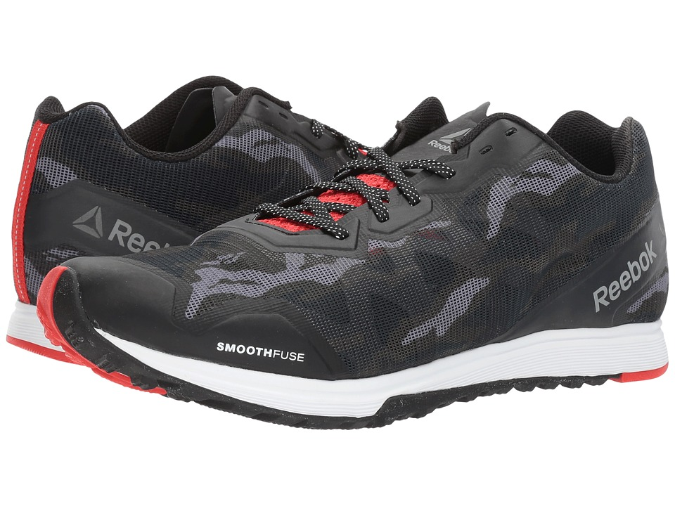 Reebok - Crosstrain Sprint 3.0 (Stealth Black/White/Riot Red) Men's Cross Training Shoes