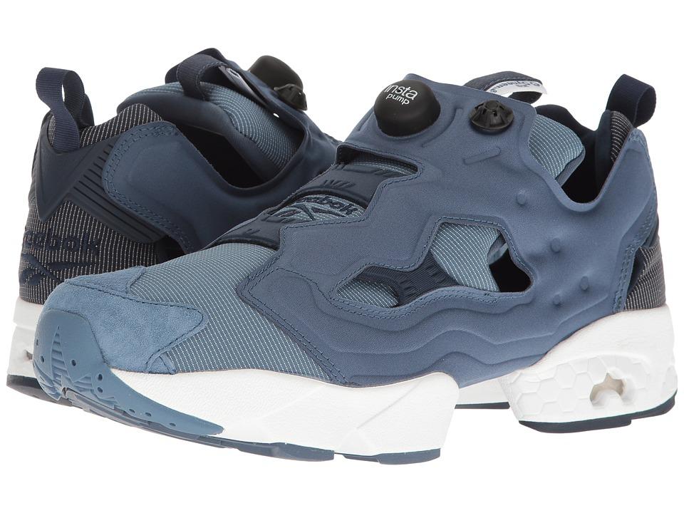 Reebok - Instapump Fury Tech (Royal Slate/Collegiate Navy/Blue Slate) Men's Cross Training Shoes