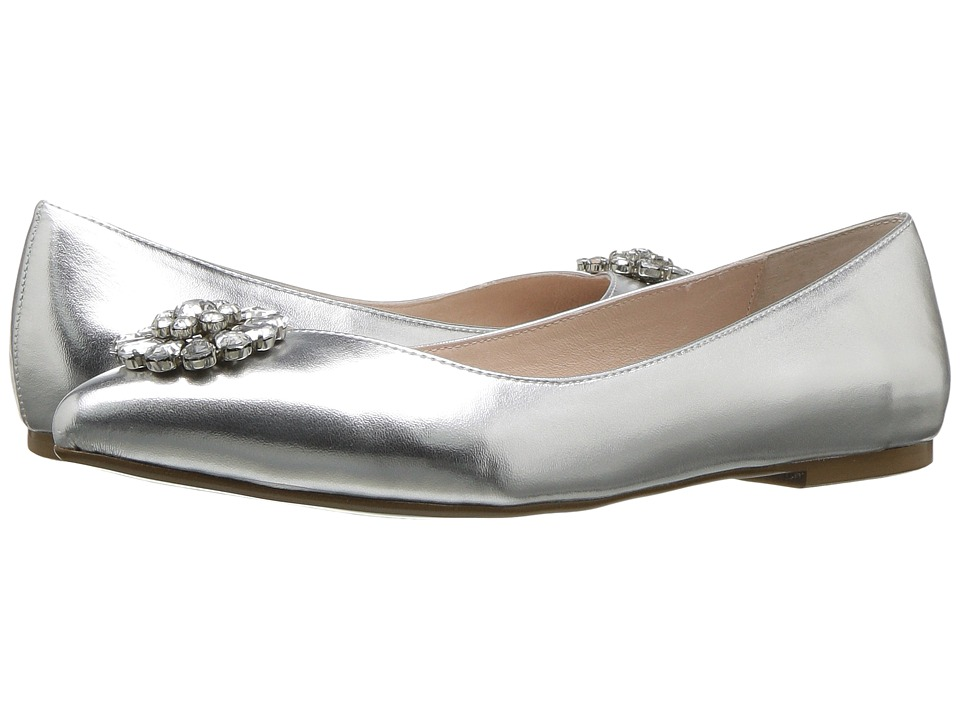 Blue by Betsey Johnson - Ava (Silver Metallic) Women's Dress Flat Shoes