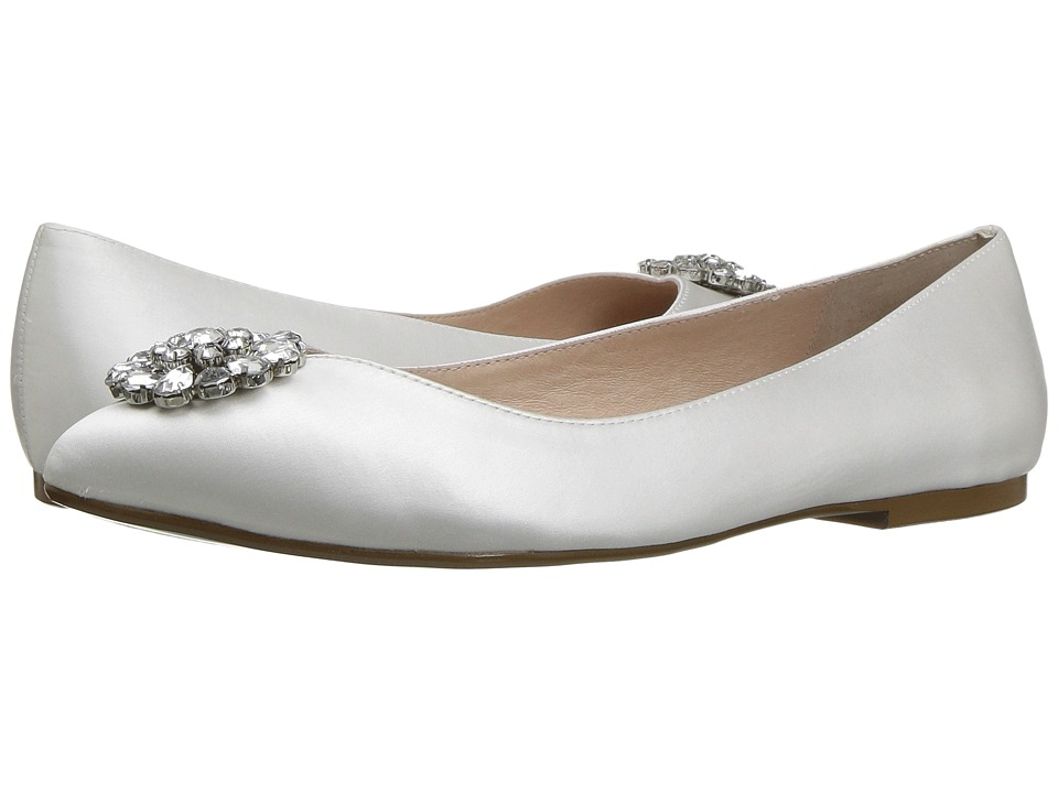 Blue by Betsey Johnson Ava (Ivory Satin) Women