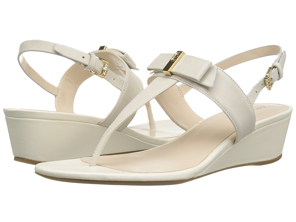 Cole Haan - Elsie Hardware Sandal II (Ivory Leather) Women's Sandals