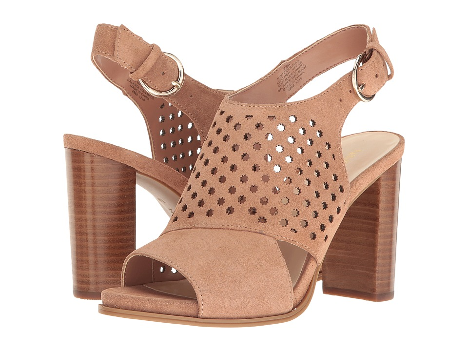 Nine West - Perriman (Natural/Natural Suede) Women's Shoes