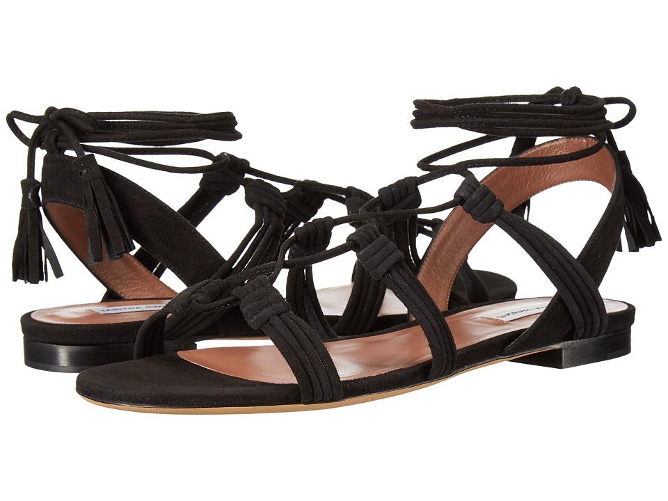 Tabitha Simmons - Jax (Black Kid Suede) Women's 1-2 inch heel Shoes