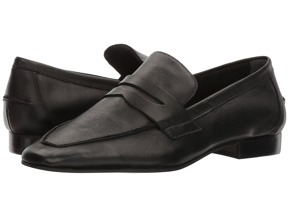 LFL by Lust For Life - Offer (Black Leather) Women's Slip-on Dress Shoes