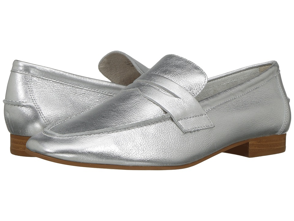 LFL by Lust For Life - Offer (Silver Leather) Women's Slip-on Dress Shoes