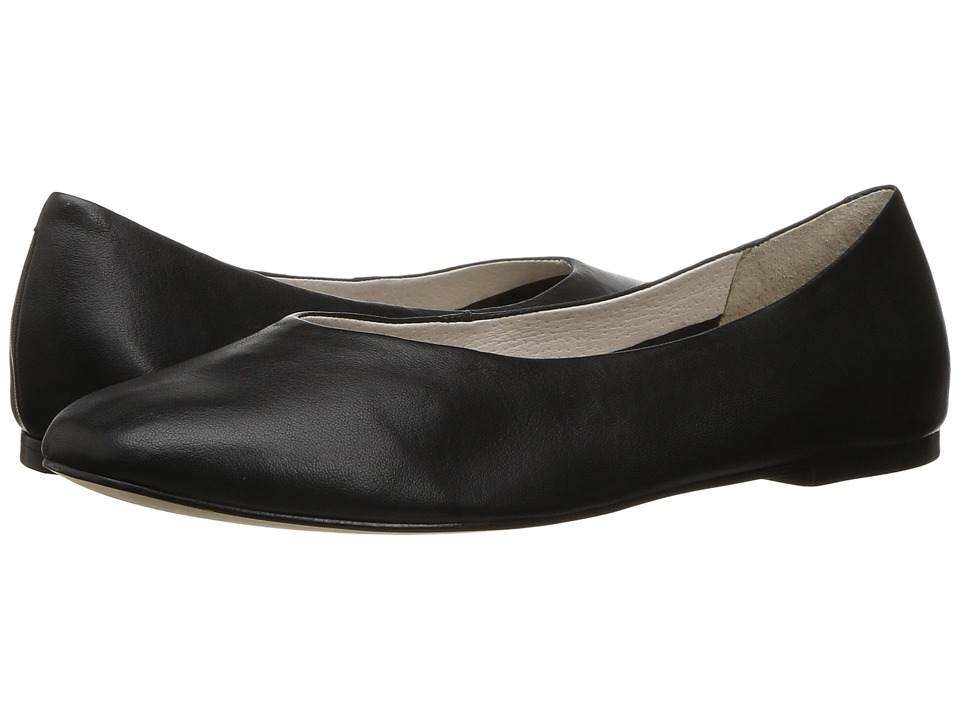 LFL by Lust For Life - Sloop (Black Leather) Women's Slip-on Dress Shoes