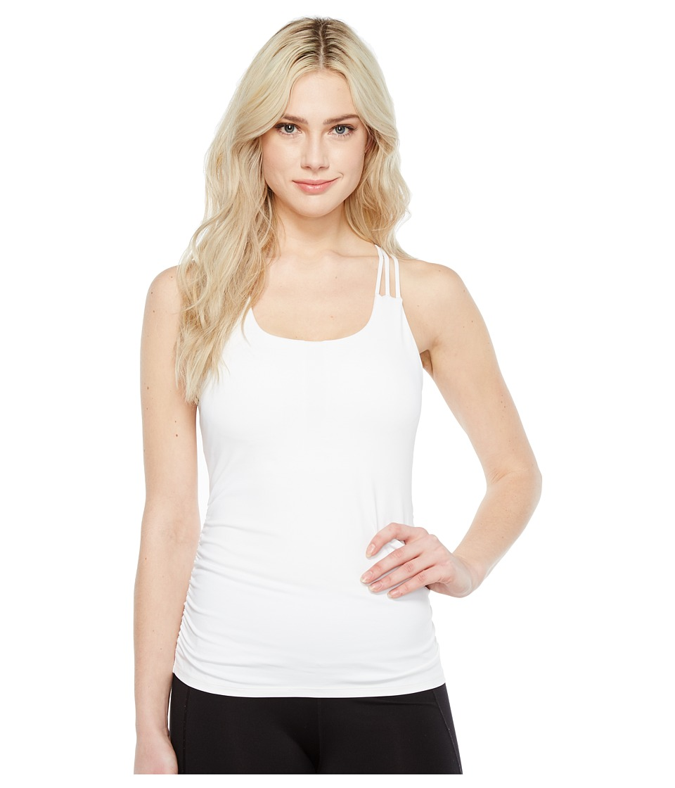 Ivanka Trump - Performance Strappy Back Cami (White) Women's Sleeveless