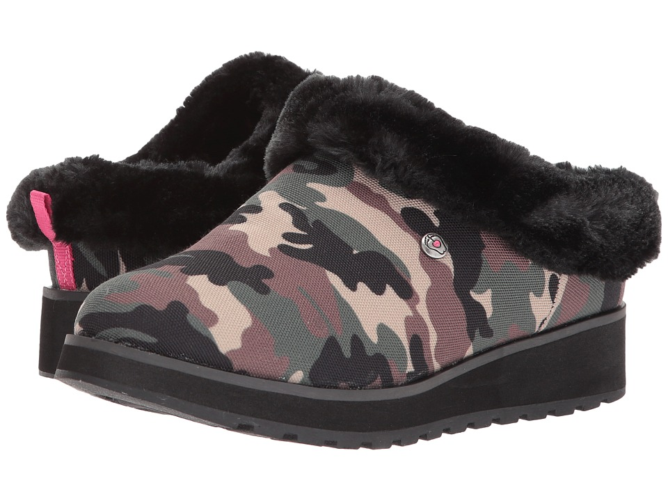 BOBS from SKECHERS - Keepsakes High-Dream Cadet (Camoflauge) Women's Shoes
