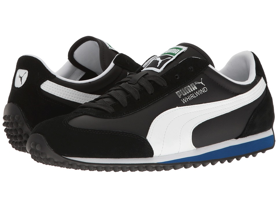 PUMA - Whirlwind Classic (Puma Black/Puma White/True Blue) Men's Lace up casual Shoes