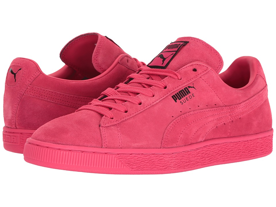 PUMA - Suede Classic+ (Teaberry Red/Black) Men's Shoes