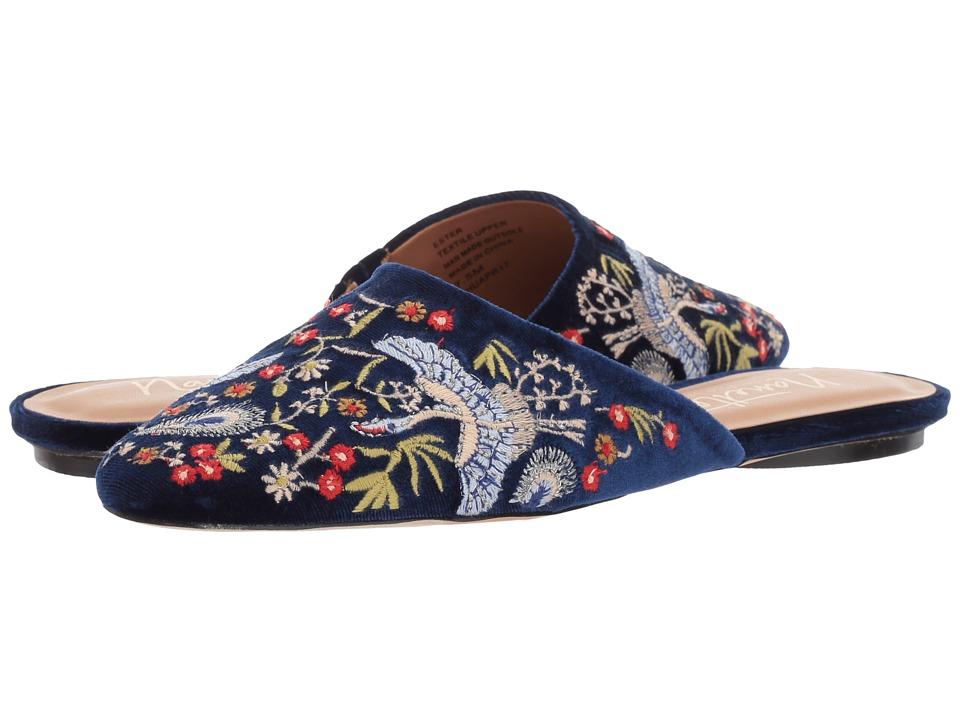 Nanette nanette lepore - Ester (Navy Velvet) Women's Shoes