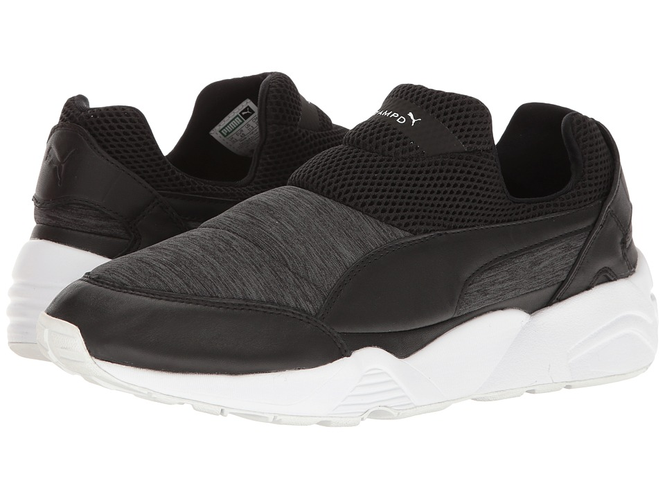 PUMA - Trinomic Sock X Stamp'D Nm (Black/Dark Shadow) Men's Shoes