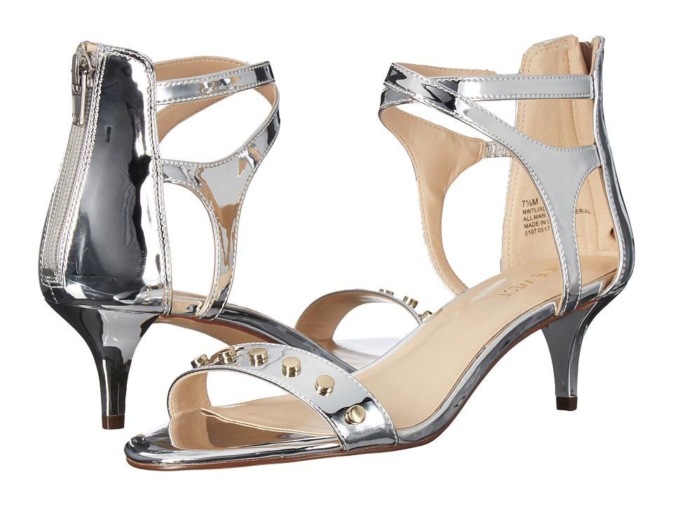 Nine West Lialo Silver Shoes