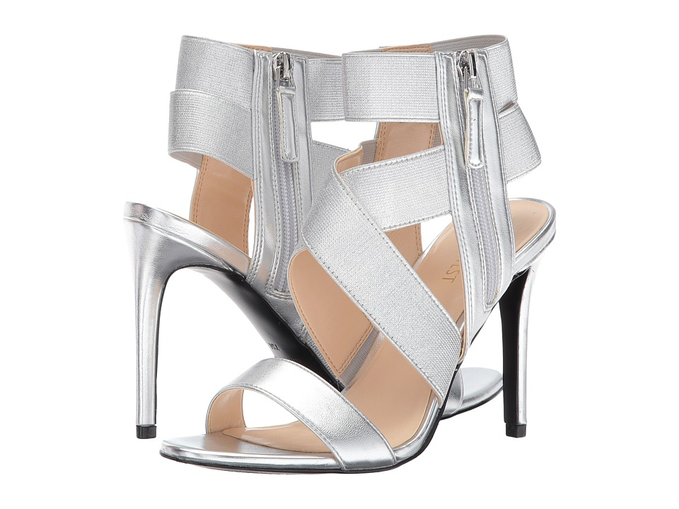 Nine West - Jacknet (Silver/Silver) Women's Shoes