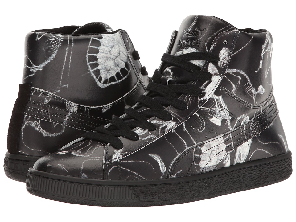 PUMA - States Mid X Swash Relic (Black) Men's Shoes