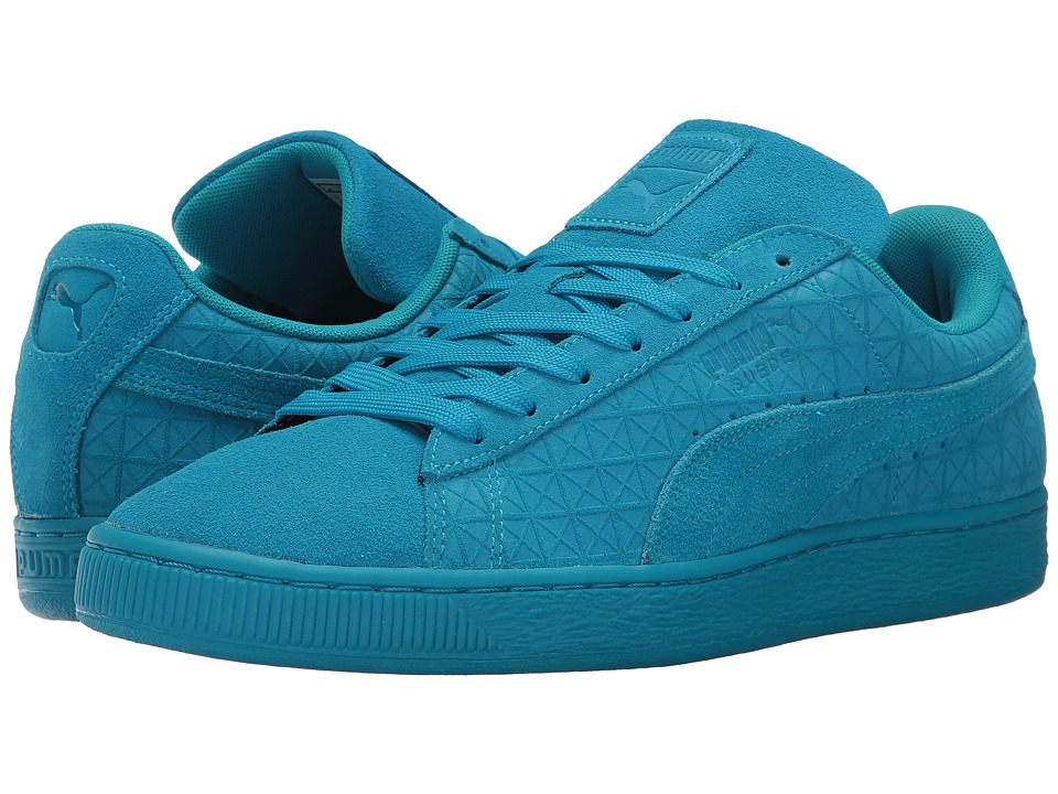 PUMA - Suede Classic GF (Blue Jewel/White) Men's Shoes