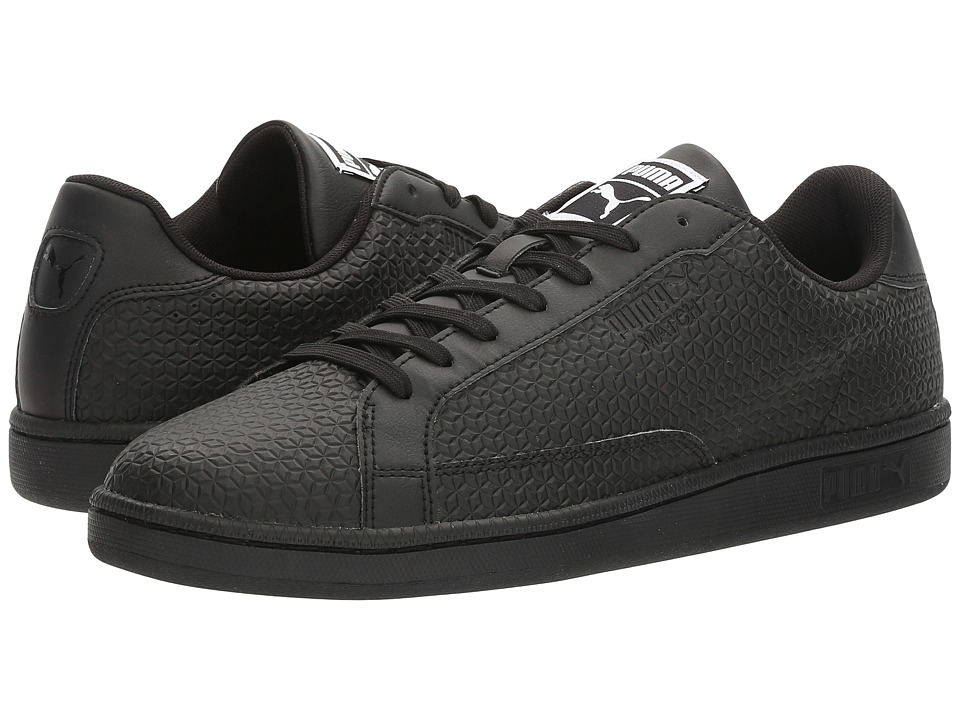 PUMA - Match Emboss (Black) Men's Shoes
