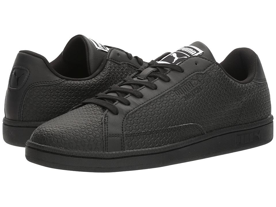 PUMA - Match Emboss (Black) Men's Shoes