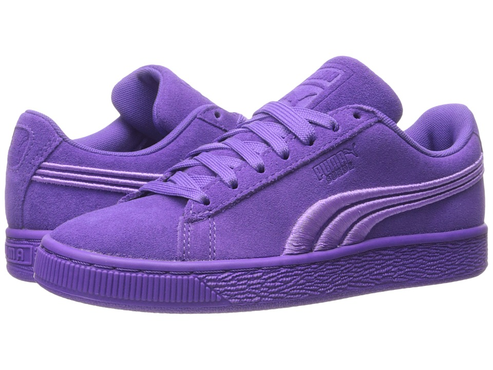 PUMA - Suede Classic Badge (Electric Purple) Men's Shoes