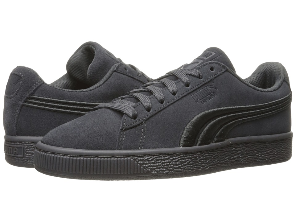 PUMA - Suede Classic Badge (Asphalt) Men's Shoes