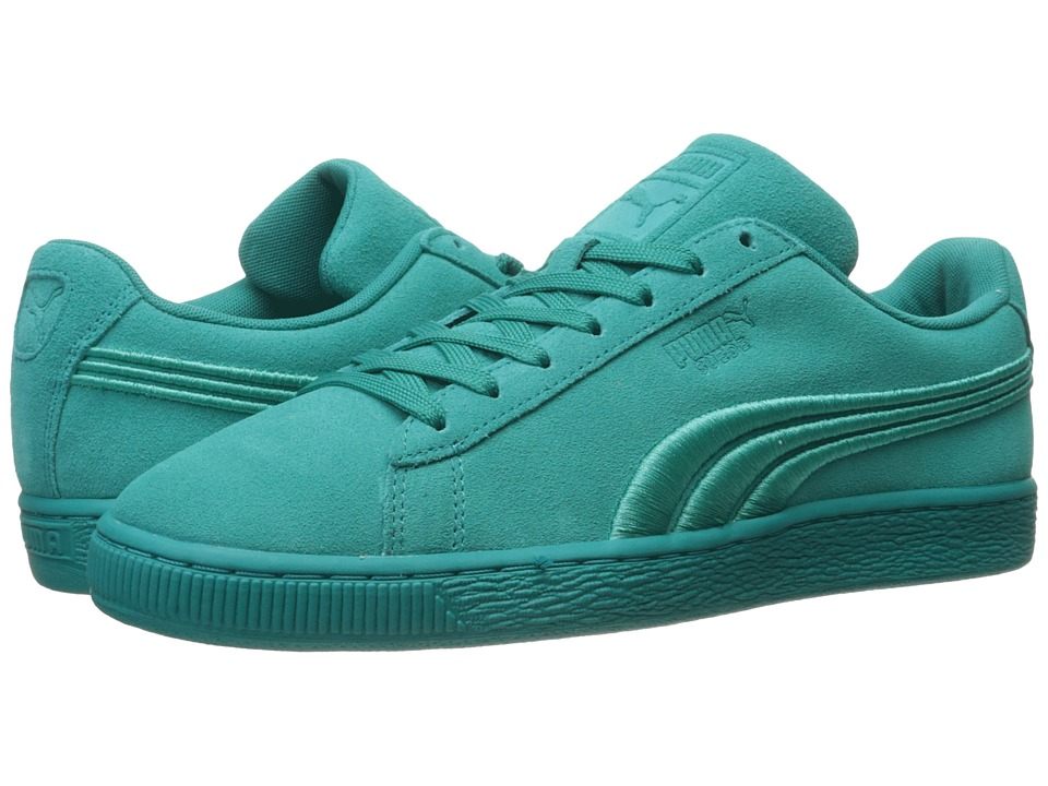 PUMA - Suede Classic Badge (Navigate/Navigate) Men's Shoes