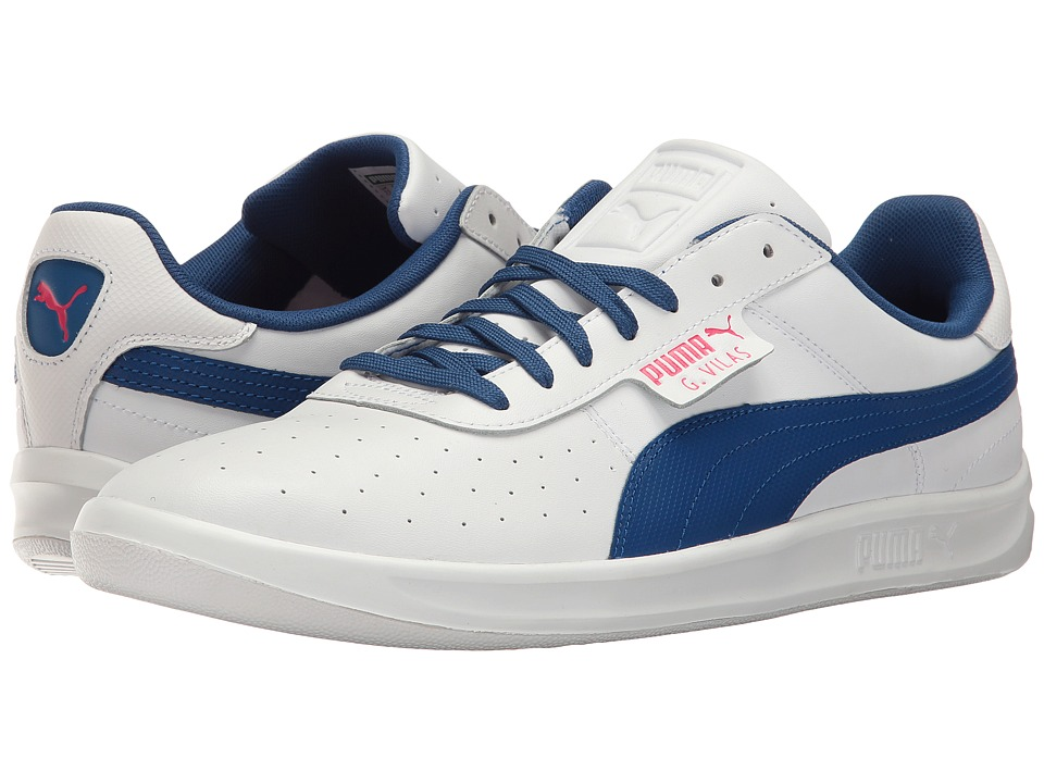PUMA - G. Vilas 2 (PUMA White/True Blue) Men's Shoes