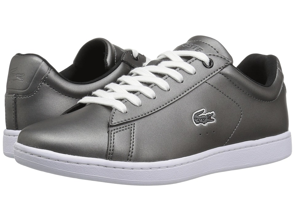 Lacoste - Carnaby Evo 317 4 (Black) Women's Shoes