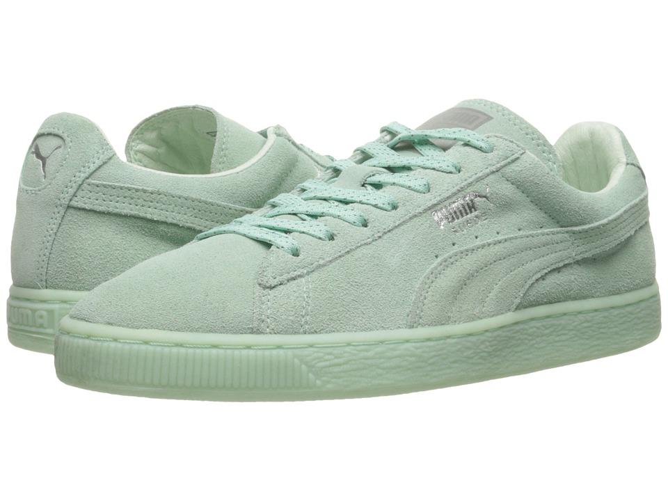 PUMA - Suede Classic Mono Ref Iced (Bay/Puma Silver) Women's Shoes
