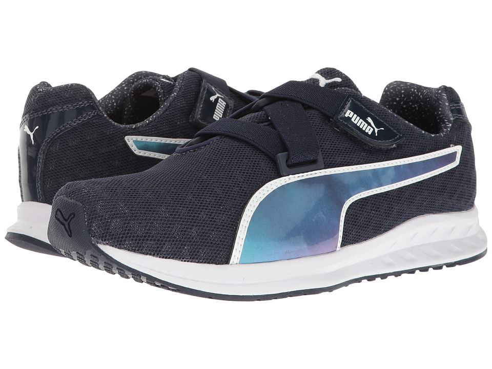 PUMA - Burst Alt Pearl (Peacoat/Puma White) Women's Shoes