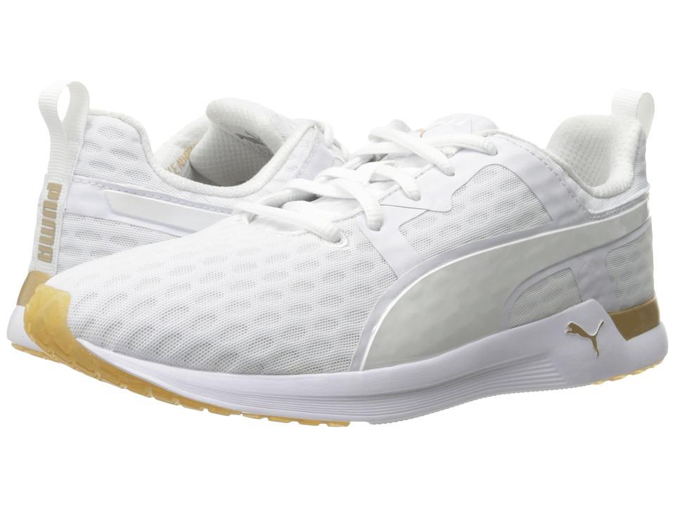 PUMA - Pulse XT V2 Gold (Puma White/Gold) Women's Shoes
