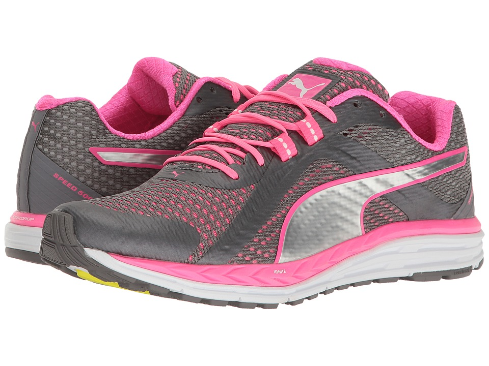 PUMA - Speed 500 Ignite (Quiet Shade/Knockout Pink/Puma Silver) Women's Shoes