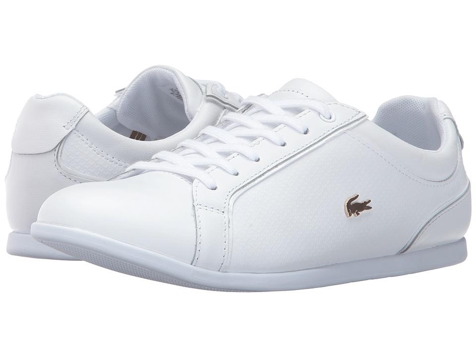 Lacoste - Rey Lace 317 1 (White) Women's Shoes