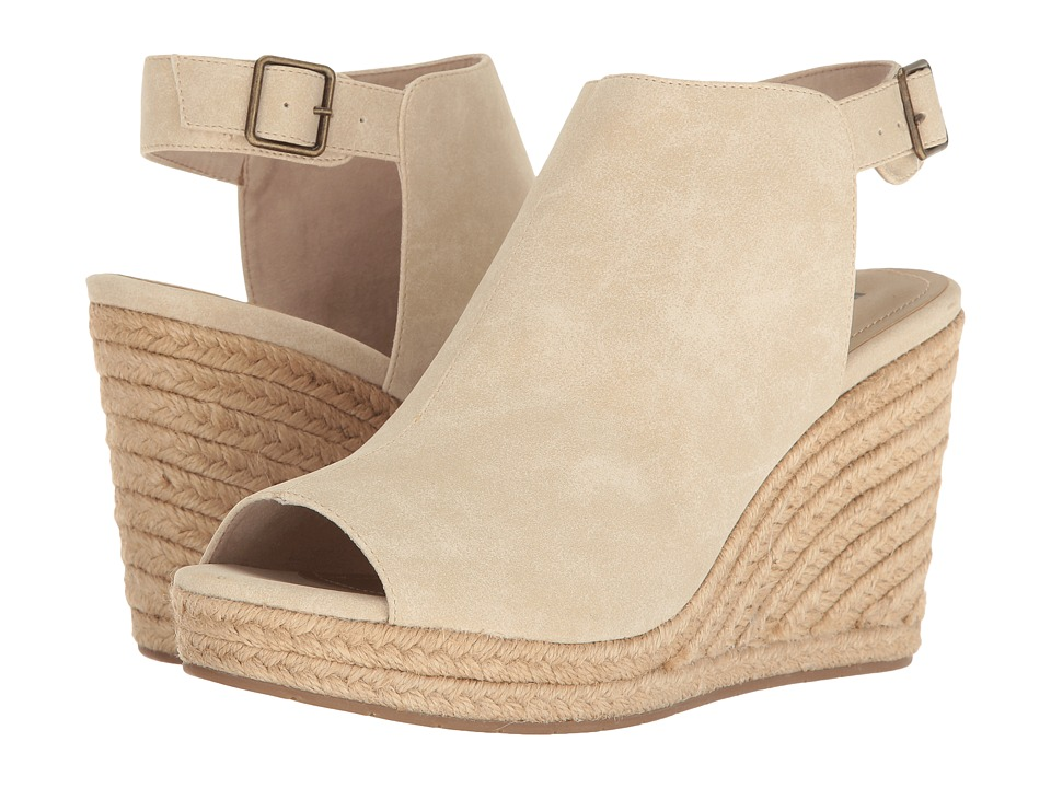Kenneth Cole Unlisted - Over Time (Stone Synthetic) Women's Wedge Shoes