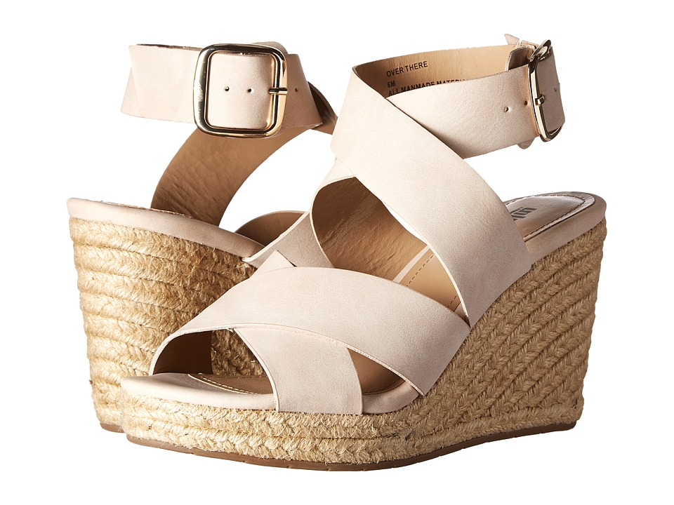Kenneth Cole Unlisted - Over There (Blush Synthetic) Women's Wedge Shoes