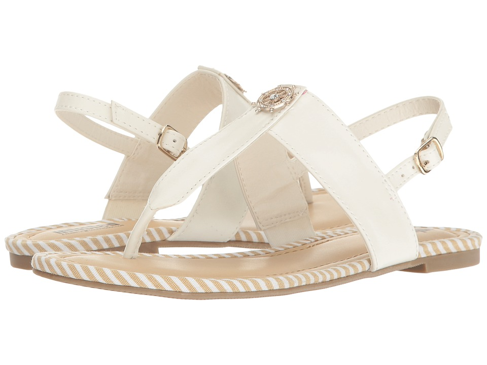 Kenneth Cole Unlisted - Stand Near (White Synthetic) Women's Sandals