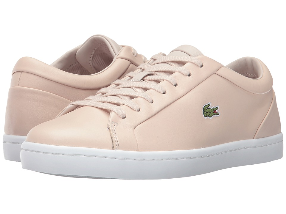 Lacoste - Straightset Lace 317 3 (Light Pink) Women's Shoes