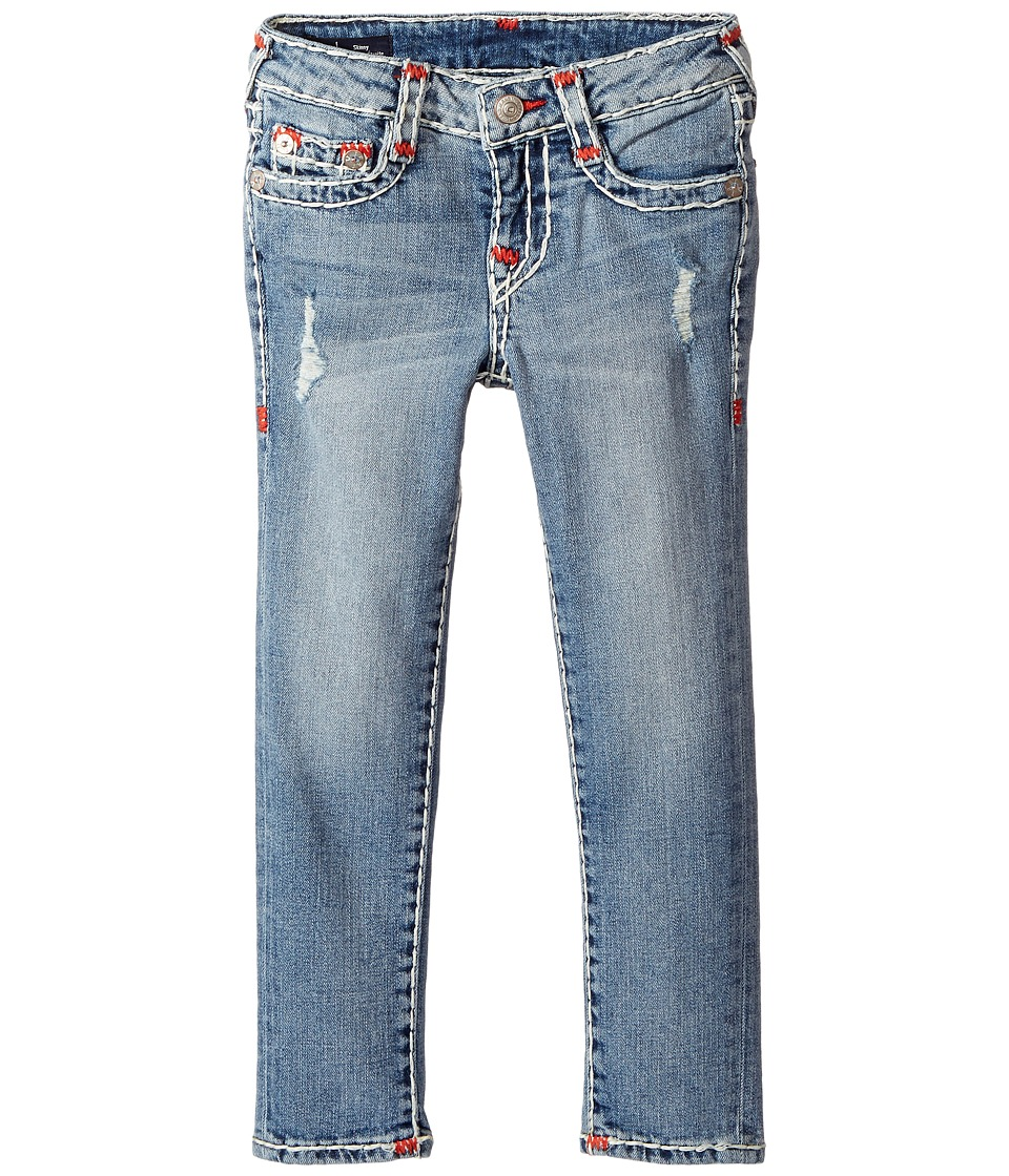 True Religion Kids - Casey Super T Skinny in Perry Wash (Toddler/Little Kids) (Perry Wash) Girl's Jeans