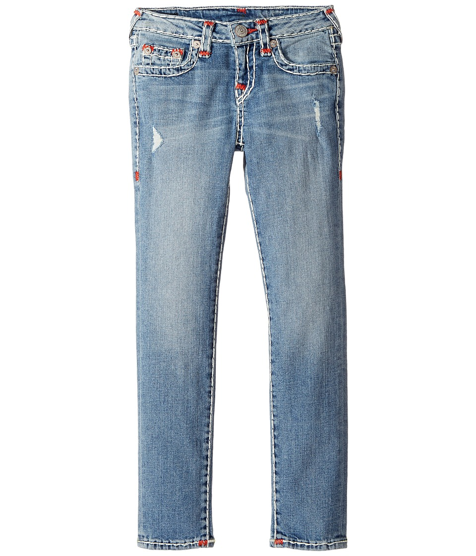 True Religion Kids - Casey Super T Skinny in Perry Wash (Big Kids) (Perry Wash) Girl's Jeans