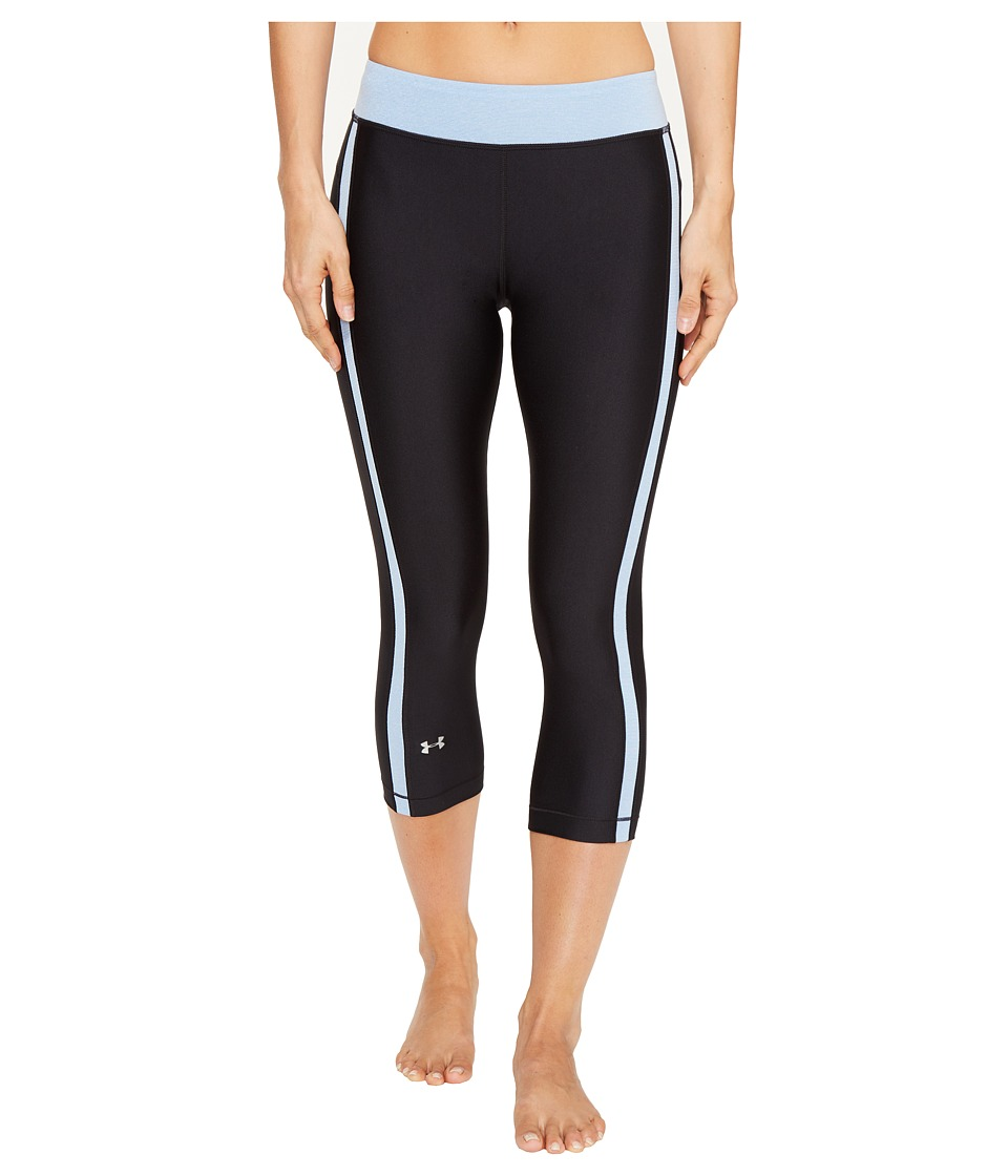 Under Armour UA HeatGear(r) Armour Sport Capris (Black) Women