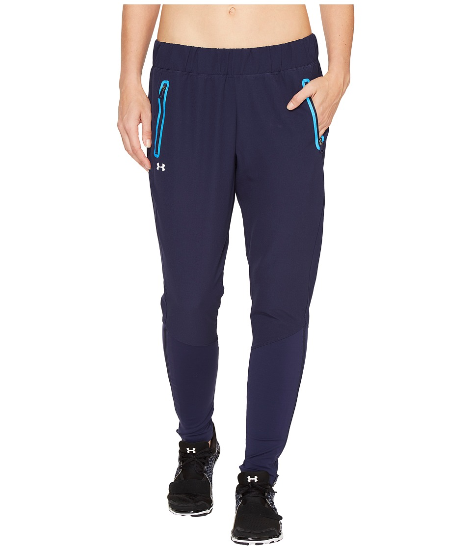 Under Armour - No Breaks Cold Weather Run Pants (Midnight Navy) Women's Casual Pants