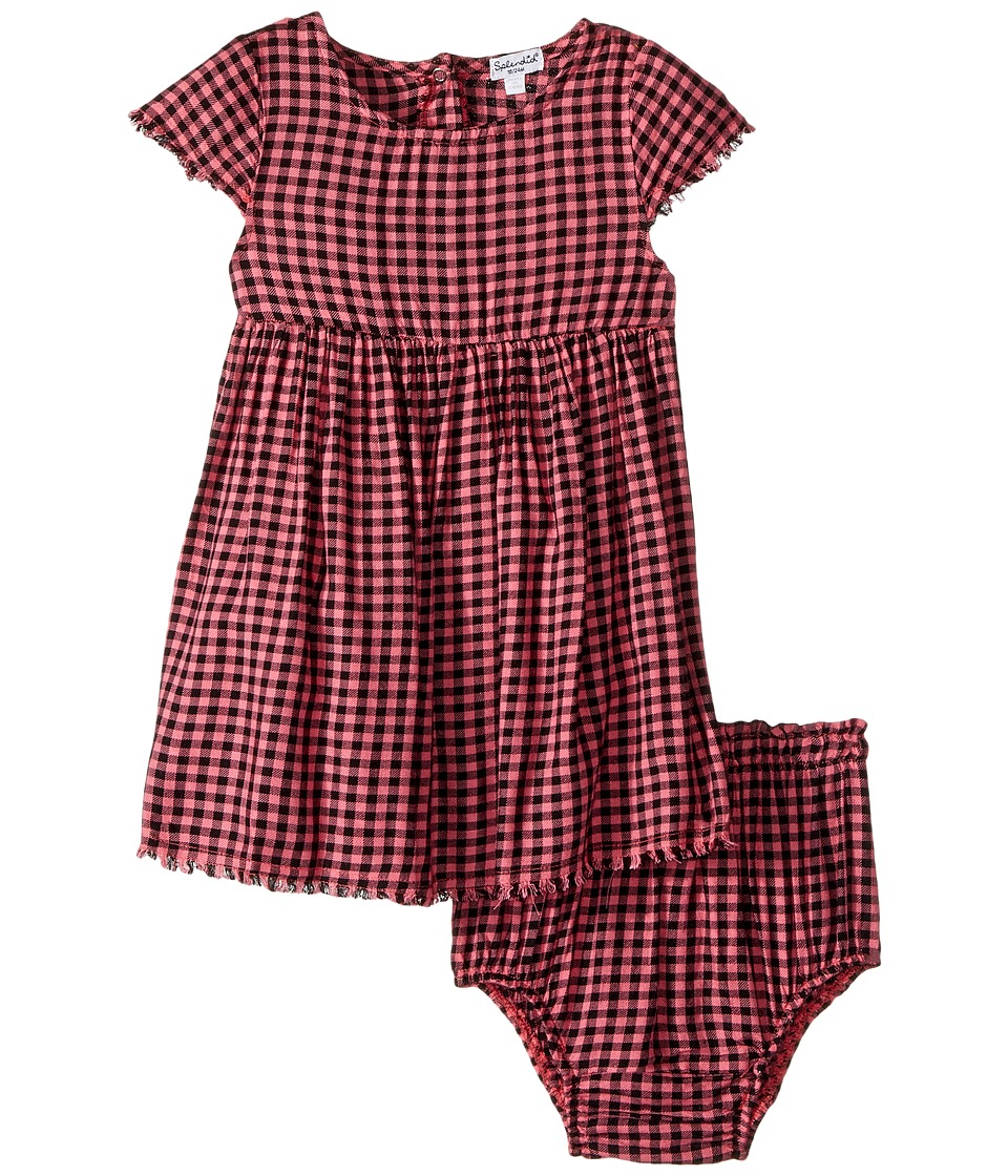 Splendid Littles - Yarn-Dyed Plaid Swing Dress (Infant) (Check) Girl's Dress