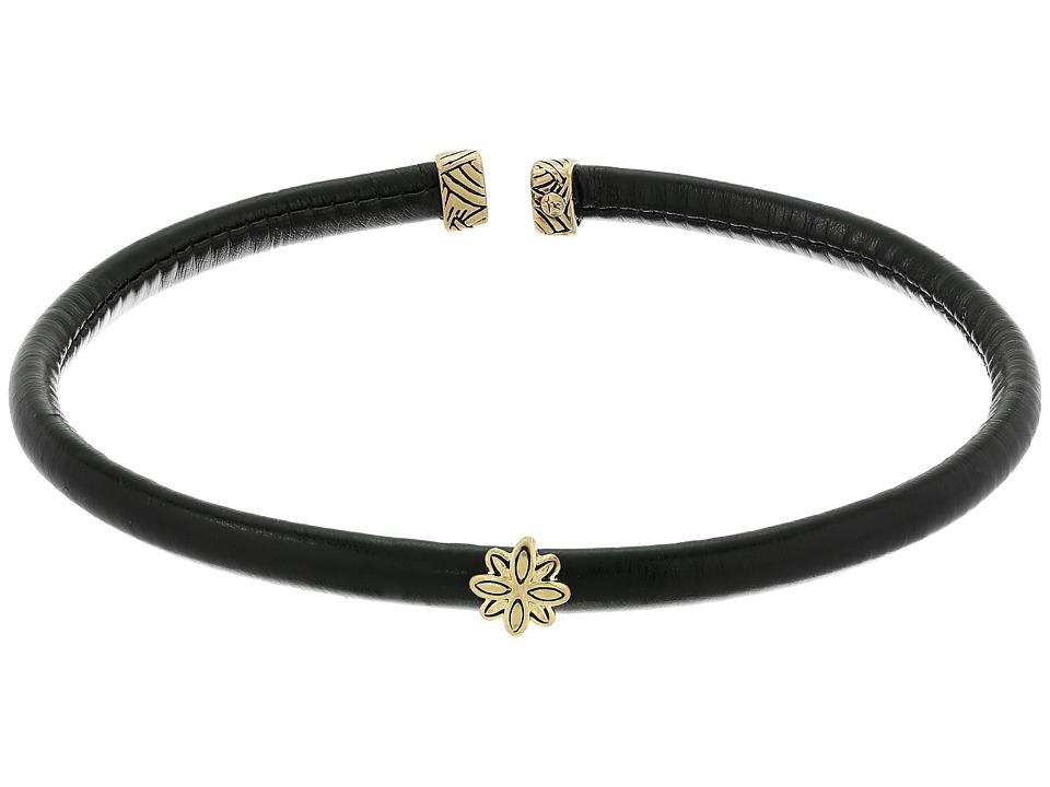 The Sak - Metal Flex Choker Necklace (Gold) Necklace