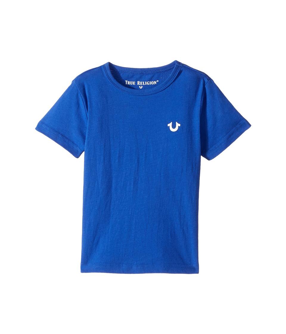 True Religion Kids - Shoestring Horseshoe Tee Shirt (Toddler/Little Kids) (Bright Blue) Boy's T Shirt