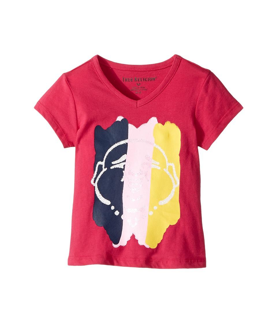 True Religion Kids - Buddha Tee Shirt (Toddler/Little Kids) (Fuchsia) Girl's T Shirt