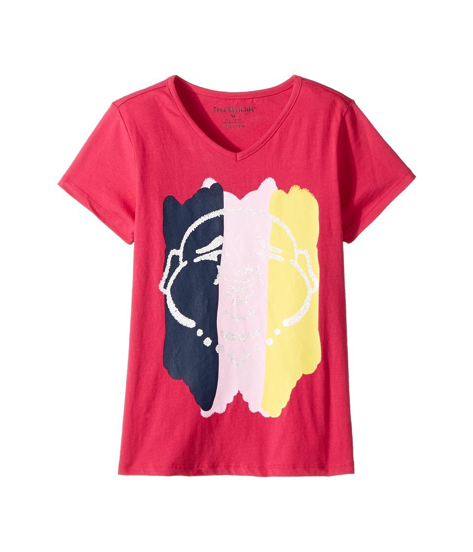 True Religion Kids - Buddha Tee Shirt (Big Kids) (Fuchsia) Girl's T Shirt